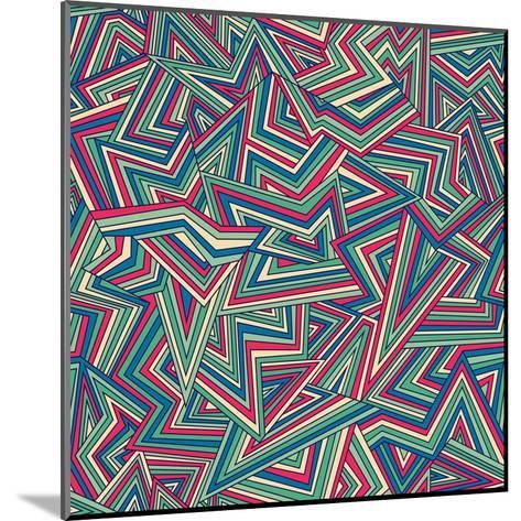 Abstract Pattern-Magnia-Mounted Art Print