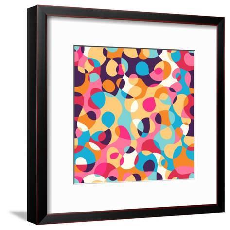 Abstract Pattern-Magnia-Framed Art Print