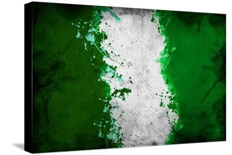 Nigerian Flag-igor stevanovic-Stretched Canvas Print
