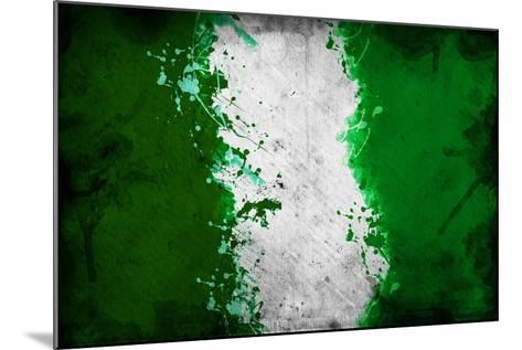 Nigerian Flag-igor stevanovic-Mounted Art Print