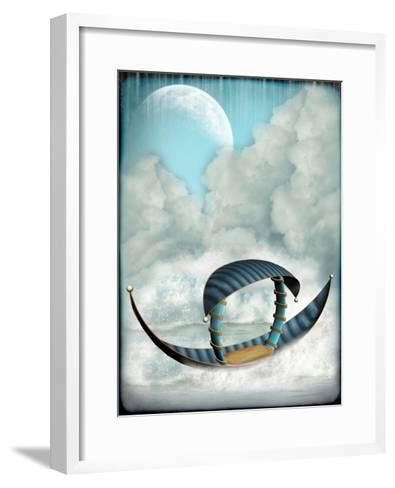 Fantasy Boat-justdd-Framed Art Print
