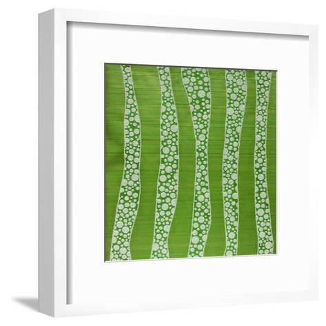 Wallpaper-nastazia-Framed Art Print