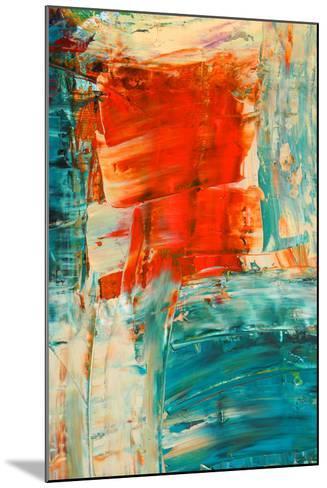 Abstract Painting-selanik-Mounted Art Print