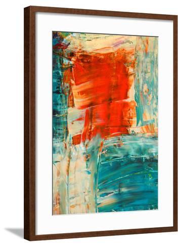 Abstract Painting-selanik-Framed Art Print