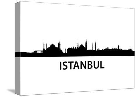 Skyline Istanbul-unkreatives-Stretched Canvas Print