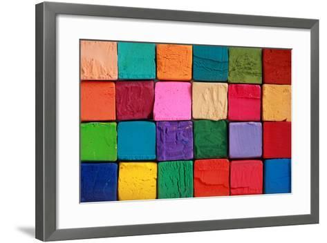 Pastel Chalks- sleep24photo-Framed Art Print