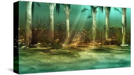 Sunken City-Atelier Sommerland-Stretched Canvas Print