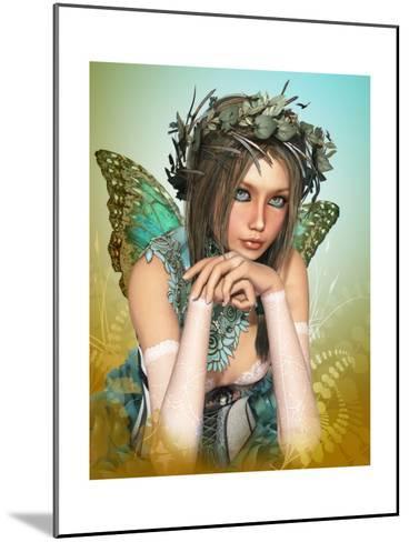 Butterfly Girl-Atelier Sommerland-Mounted Art Print