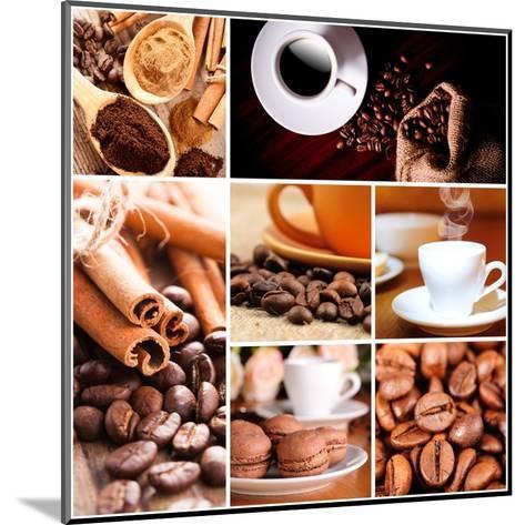 Coffee Concept-oksix-Mounted Art Print