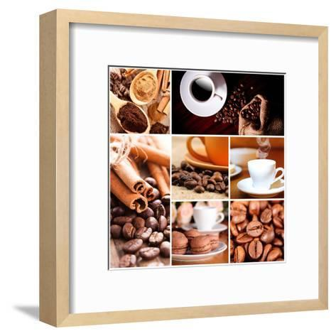 Coffee Concept-oksix-Framed Art Print
