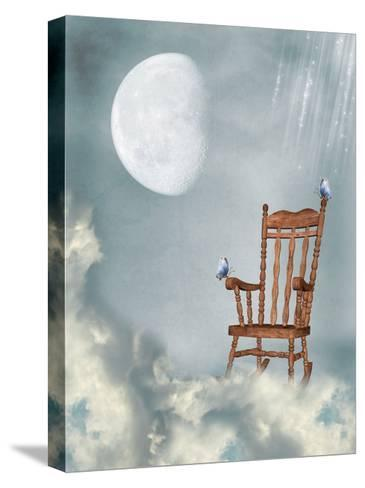 Rocking Chair-justdd-Stretched Canvas Print