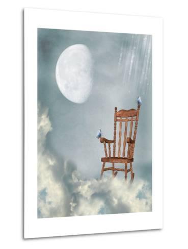 Rocking Chair-justdd-Metal Print