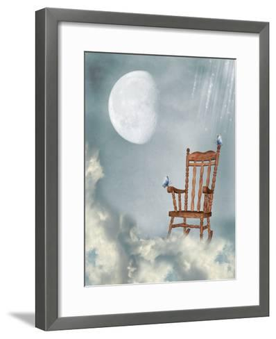 Rocking Chair-justdd-Framed Art Print