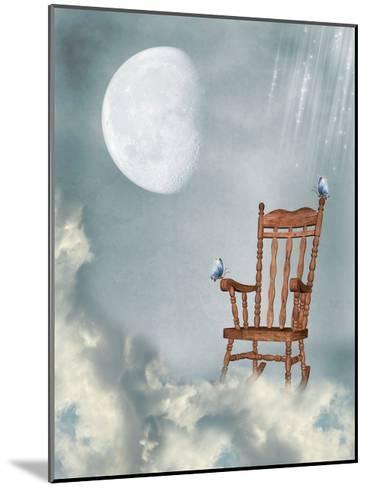 Rocking Chair-justdd-Mounted Art Print