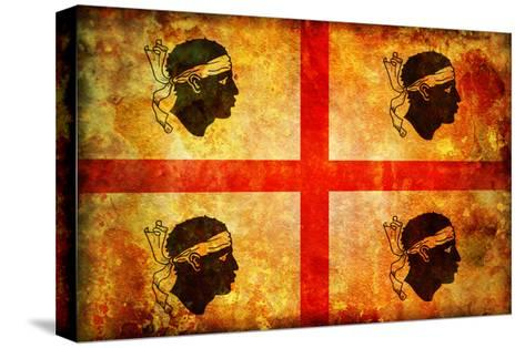 Sardinia Flag-michal812-Stretched Canvas Print