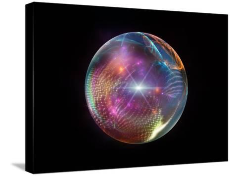 Fractal Ball-agsandrew-Stretched Canvas Print
