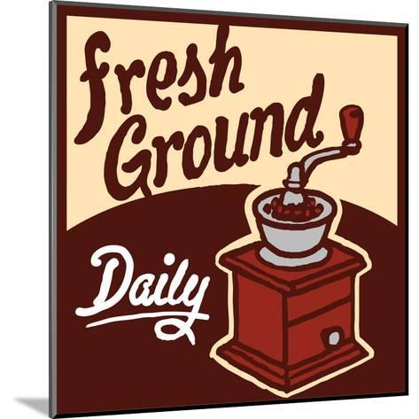 Fresh Ground-Bigelow Illustrations-Mounted Art Print