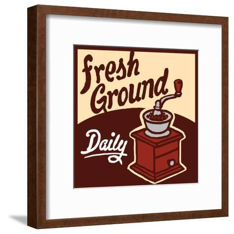 Fresh Ground-Bigelow Illustrations-Framed Art Print