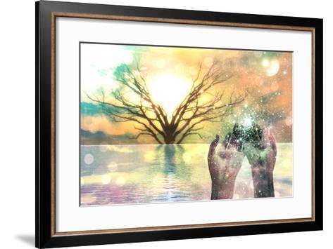 Spiritual Composition-rolffimages-Framed Art Print