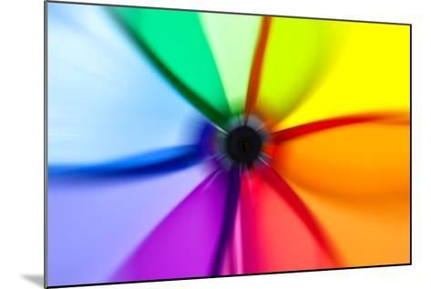 Abstract Color Wheel- surpasspro-Mounted Art Print