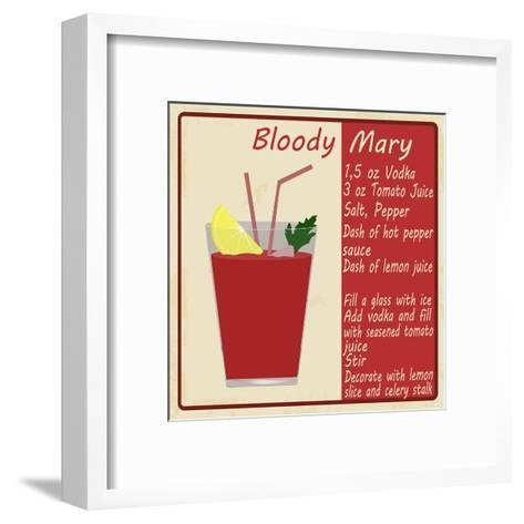 Bloody Mary Cocktail-radubalint-Framed Art Print
