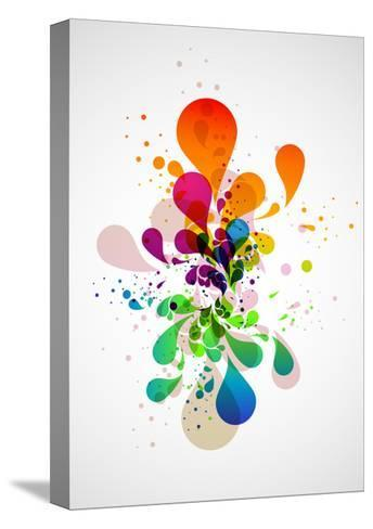 Abstract Background-theromb-Stretched Canvas Print