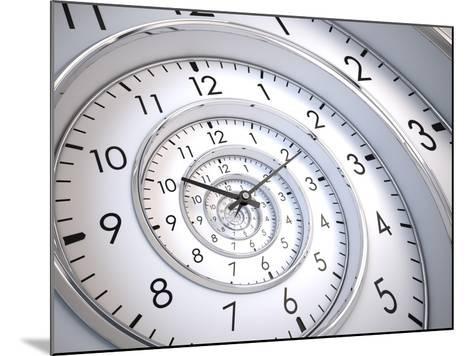 Infinity Time Spiral-Sashkin-Mounted Art Print
