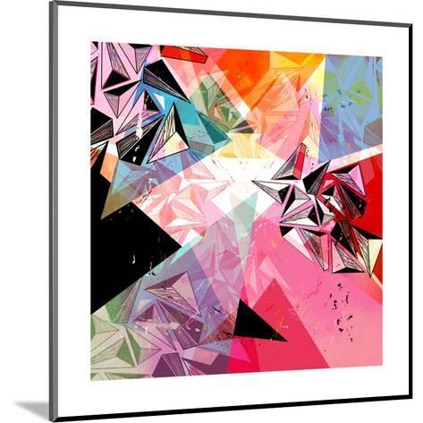 Abstract Background-Tanor-Mounted Art Print