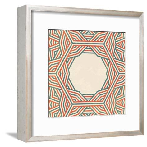 Abstract Background-Magnia-Framed Art Print