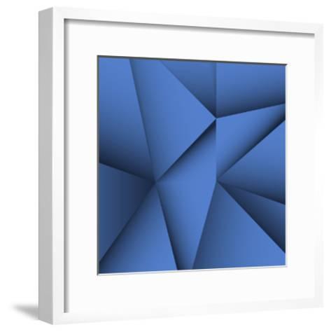 Abstract Background-bagotaj-Framed Art Print