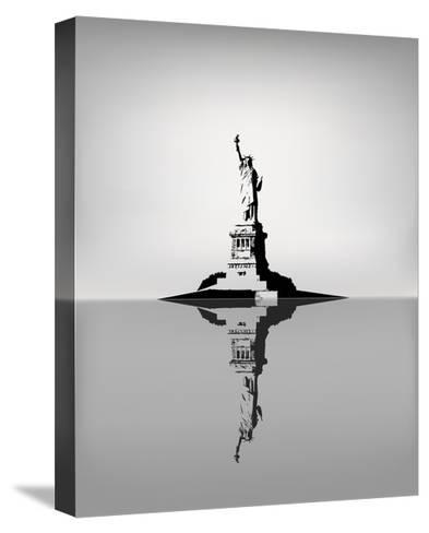 Statue Of Liberty-zhelunovych-Stretched Canvas Print