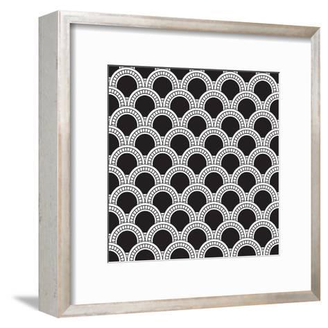 Geometrical Pattern-matik22-Framed Art Print