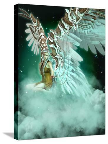 An Angel-Atelier Sommerland-Stretched Canvas Print