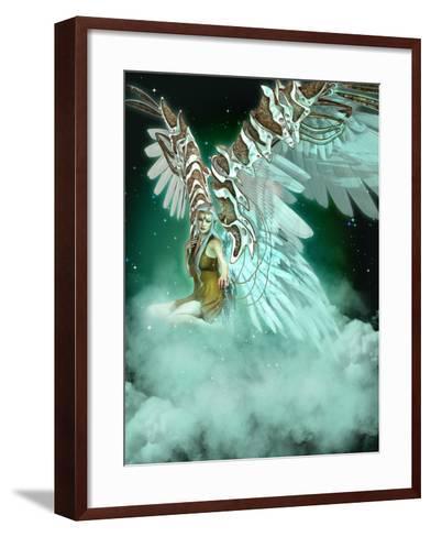 An Angel-Atelier Sommerland-Framed Art Print