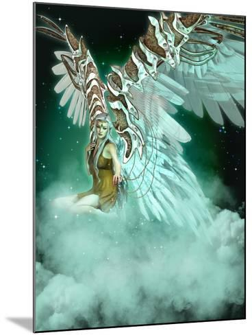An Angel-Atelier Sommerland-Mounted Art Print