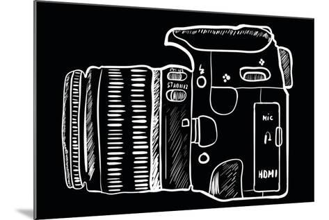 Camera 2-Trankvilizator-Mounted Art Print