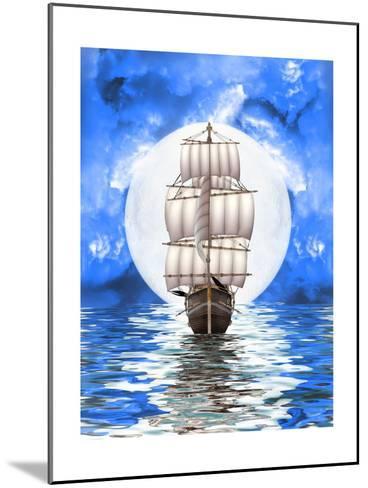 Old Ship-justdd-Mounted Art Print