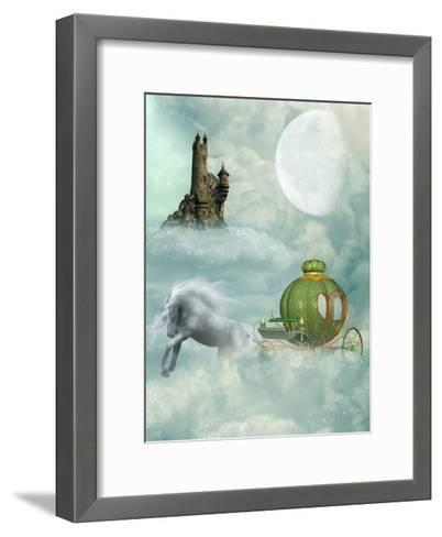 Carriage-justdd-Framed Art Print