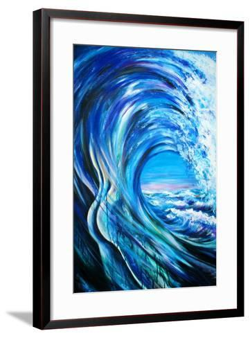 Wave-DannyWilde-Framed Art Print