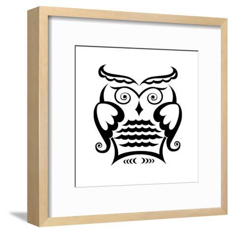 Owl-matik22-Framed Art Print