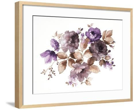 Flowers- alephcomo-Framed Art Print