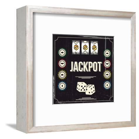 Jackpot-snoopgraphics-Framed Art Print