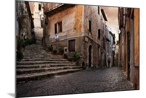 Old Italian Village-conrado-Mounted Art Print