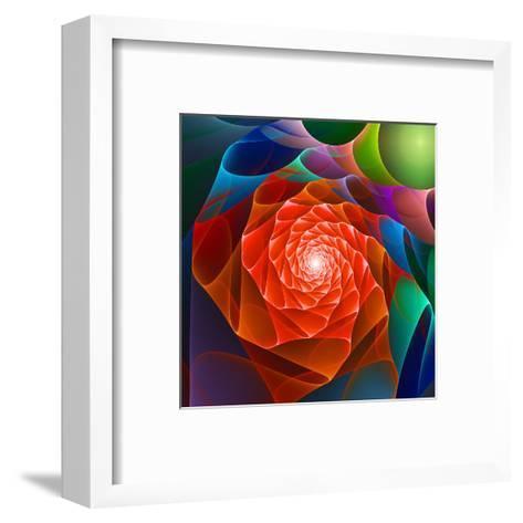 Chaos Space Flower- sgame-Framed Art Print
