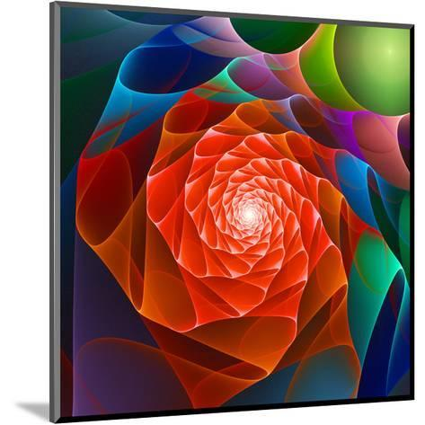 Chaos Space Flower- sgame-Mounted Art Print