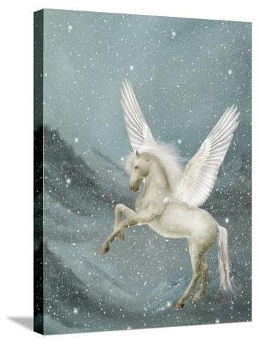 Pegasus-justdd-Stretched Canvas Print