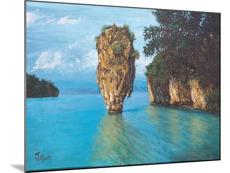Pang-Nga Bay National Park In Thailand- hinnamsaisuy-Mounted Art Print