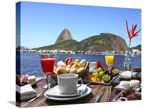 Breakfast In Rio De Janeiro-luiz rocha-Stretched Canvas Print