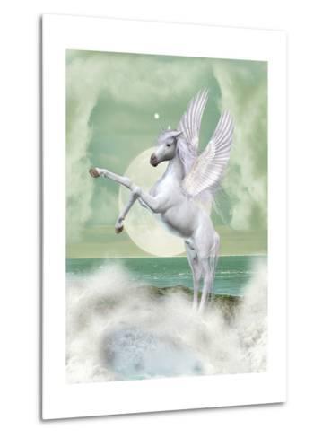 Unicorn-justdd-Metal Print