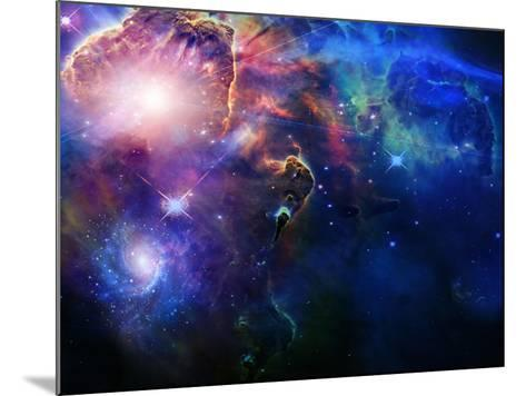 Space-rolffimages-Mounted Art Print